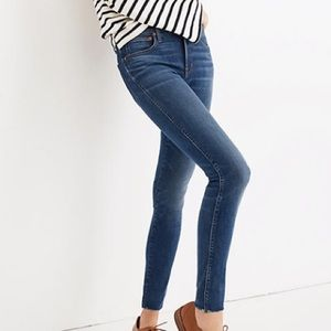 "Madewell   High Rise 9"" Skinny Jeans"